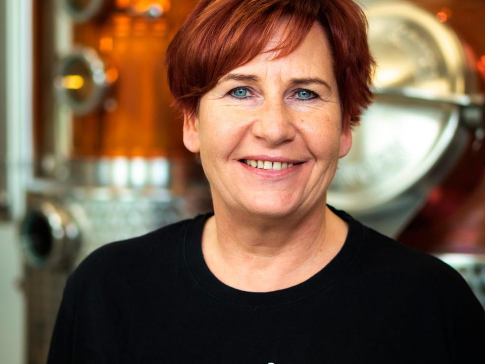 Portrait photo of Claudia Ofner, Secretary at Distillery Krauss