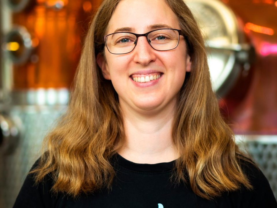 Portrait photo of Laura Merkac, Distiller and Production Manager at Distillery Krauss