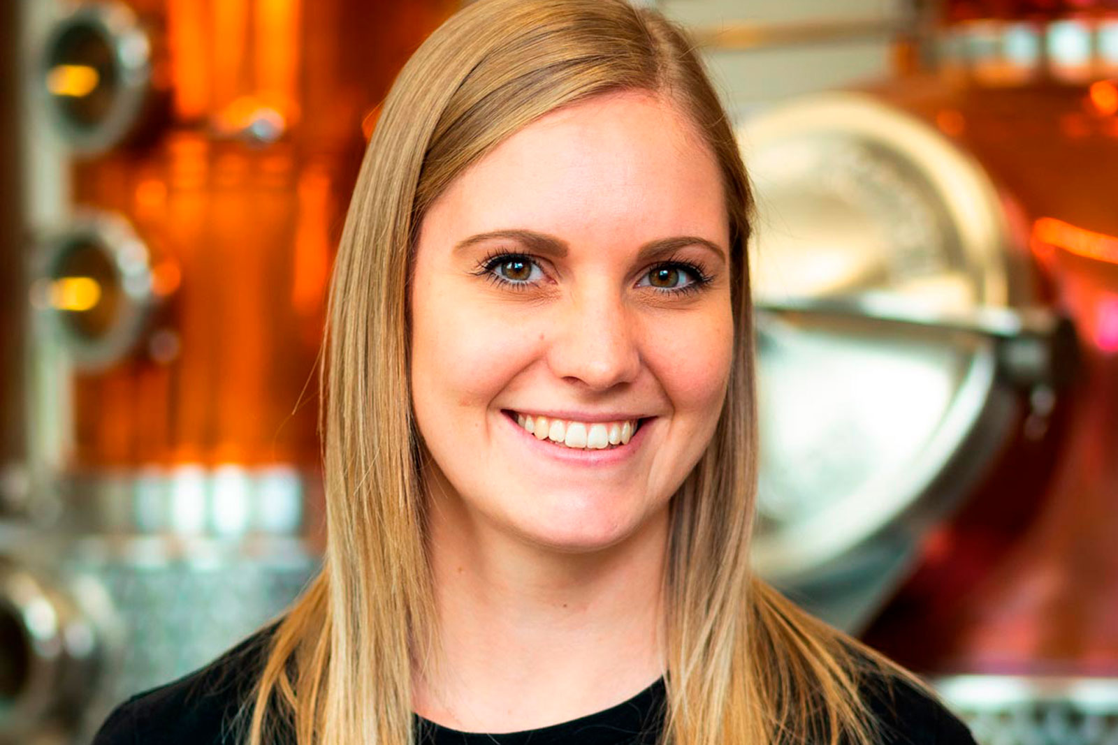 Portrait photo of Sabrina Knappitsch, Quality Manager at Distillery Krauss